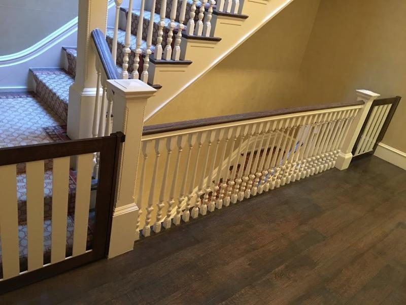 Custom stair gates